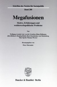 Cover Megafusionen