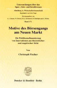 Cover Motive des Börsengangs am Neuen Markt