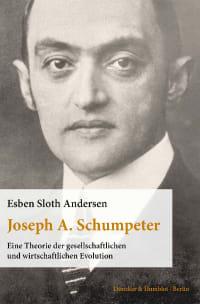 Cover Joseph A. Schumpeter