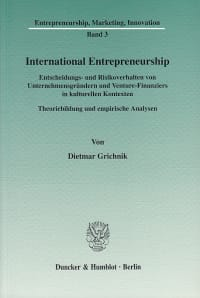 Cover International Entrepreneurship