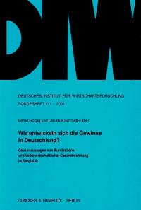 Cover Wie entwickeln sich die Gewinne in Deutschland?