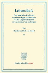 Cover Lebensläufe