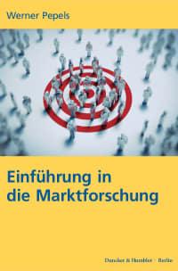 Cover Einführung in die Marktforschung