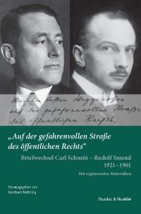 Cover »Auf der gefahrenvollen Straße des öffentlichen Rechts«.