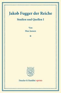 Cover Jakob Fugger der Reiche