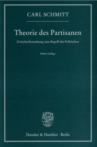 Cover Theorie des Partisanen