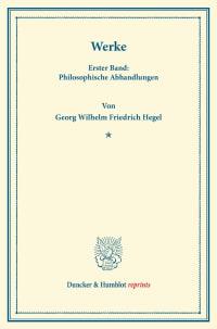 Cover Werke