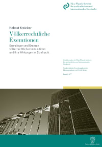 Cover Völkerrechtliche Exemtionen