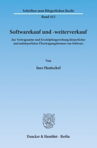 Cover Softwarekauf und -weiterverkauf