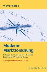 Cover Moderne Marktforschung