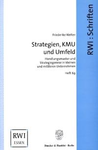 Cover Strategien, KMU und Umfeld