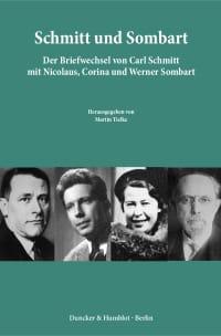 Cover Schmitt und Sombart
