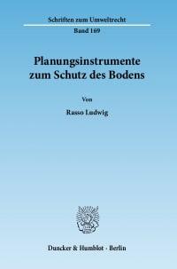 Cover Planungsinstrumente zum Schutz des Bodens