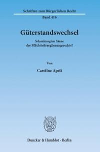 Cover Güterstandswechsel