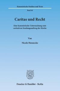 Cover Caritas und Recht