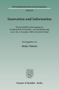 Cover Innovation und Information