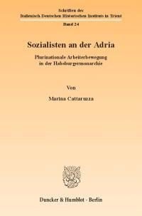 Cover Sozialisten an der Adria