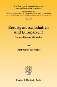 Cover Berufsgenossenschaften und Europarecht