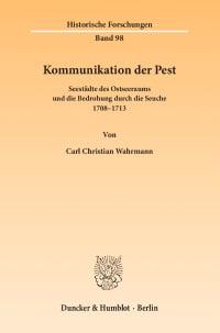 Cover Kommunikation der Pest