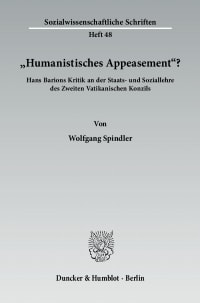"Cover ""Humanistisches Appeasement""?"