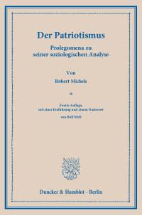 Cover Der Patriotismus