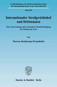 Cover Internationaler Strafgerichtshof und Drittstaaten