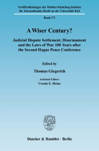 Cover A Wiser Century?