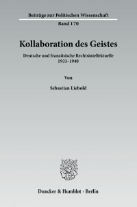 Cover Kollaboration des Geistes