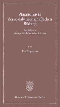 Cover Pluralismus in der sozialwissenschaftlichen Bildung