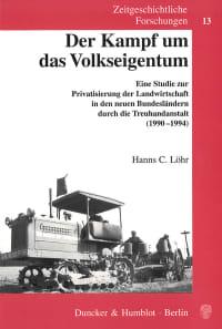 Cover Der Kampf um das Volkseigentum