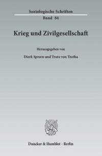 Cover Krieg und Zivilgesellschaft