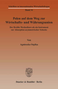 Cover Polen auf dem Weg zur Wirtschafts- und Währungsunion