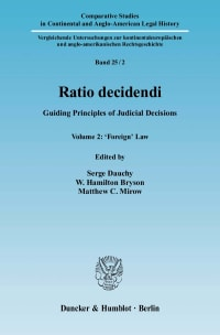 Cover Ratio decidendi
