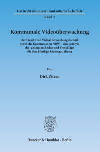 Cover Kommunale Videoüberwachung