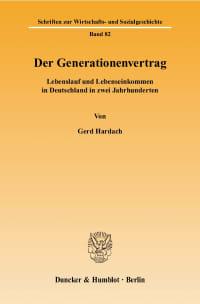 Cover Der Generationenvertrag