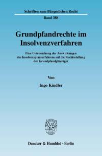 Cover Grundpfandrechte im Insolvenzverfahren