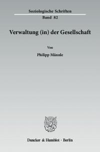 Cover Verwaltung (in) der Gesellschaft