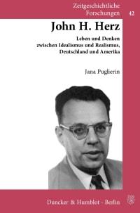 Cover John H. Herz