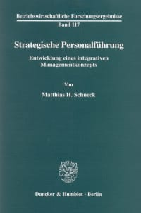 Cover Strategische Personalführung