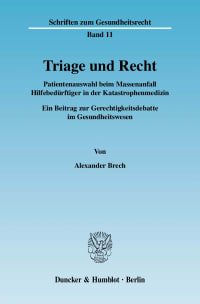Cover Triage und Recht