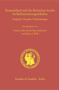 Cover Deutschland und die Britischen Inseln im Reformationsgeschehen
