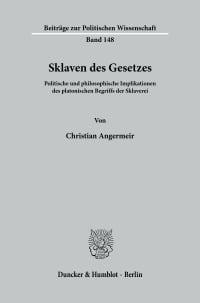 Cover Sklaven des Gesetzes