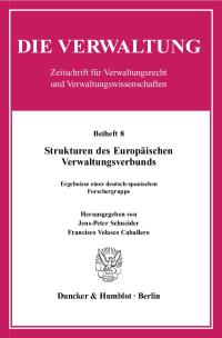 Cover Strukturen des Europäischen Verwaltungsverbunds