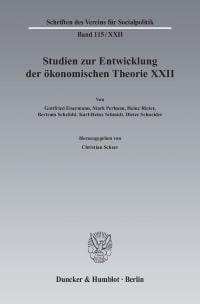 Cover Ideen, Methoden und Entwicklungen der Geschichte des ökonomischen Denkens