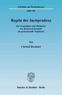 Cover Regeln der Jurisprudenz