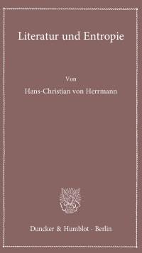 Cover Literatur und Entropie