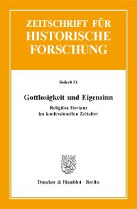 Cover Gottlosigkeit und Eigensinn