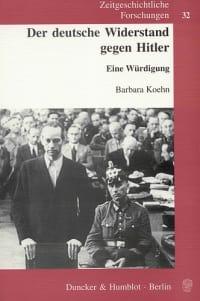 Cover Der deutsche Widerstand gegen Hitler