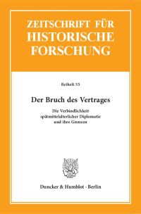 Cover Der Bruch des Vertrages