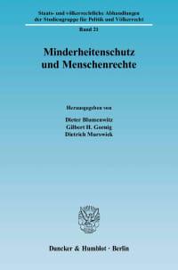 Cover Minderheitenschutz und Menschenrechte
